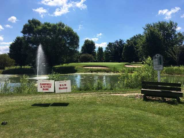 A view of hole #3 at Kendallville Golf Course.