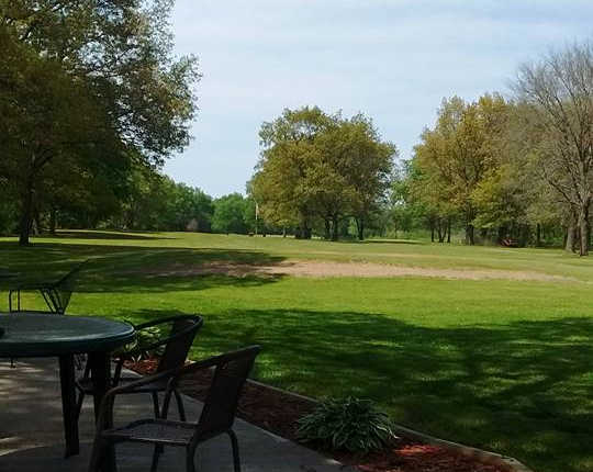A view of a hole at Lu Gene Links Country Club (Sandra L. Erb).