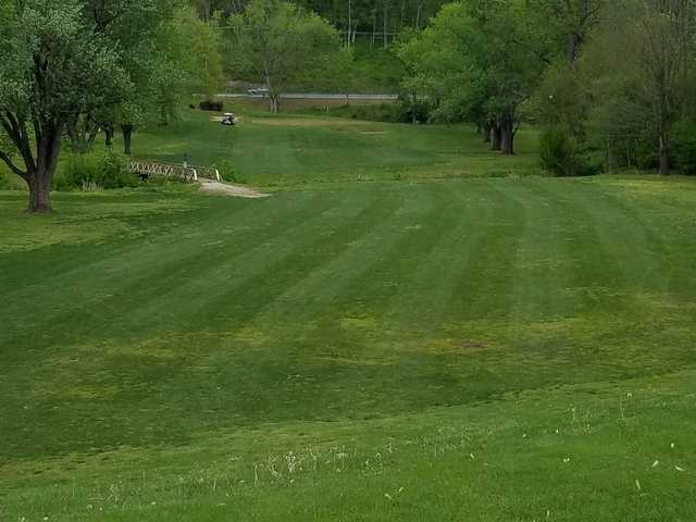 A view from a fairway at River Chase Golf Course.