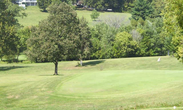 A view of a green at Paoli Country Club.