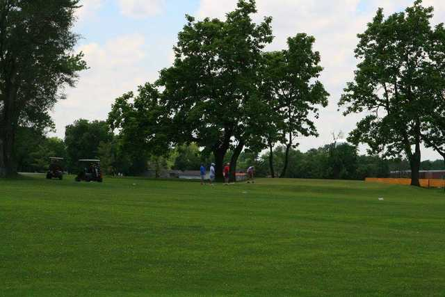 A view from Speed Golf Course (Speed Memorial Church).