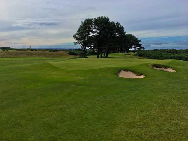 A view from the  Arran Course at Trump Turnberry Resort