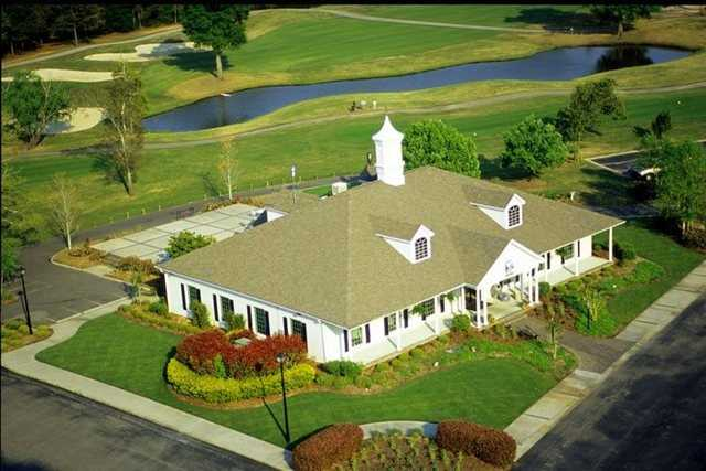 Aerial view from Aberdeen Country Club