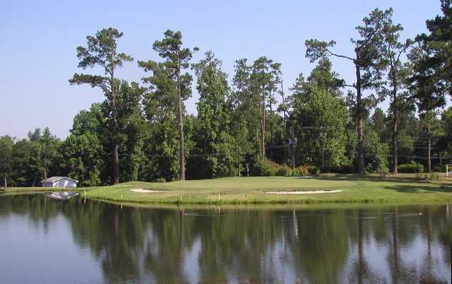 A view of green #18 at Shannon Greens Golf Club
