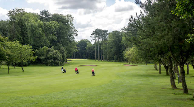 A view from Lilleshall Hall Golf Club