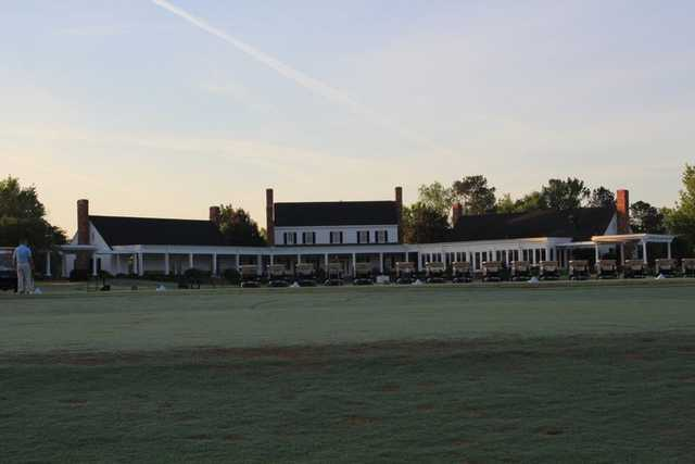 A view of the clubhouse from Mount Vintage Plantation Golf Club