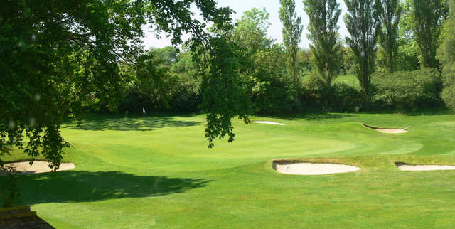 View of the 3rd green at Darlington Golf Club