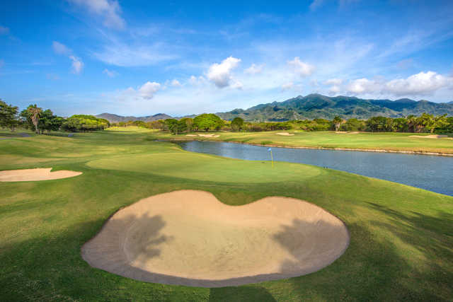 View of the 10th hole from the The Weiskopf Course at Vista Vallarta Golf Club