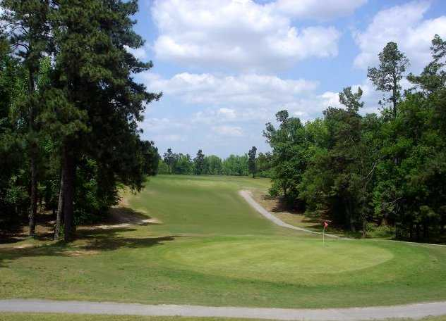 A view of hole #4 at Calhoun Country Club