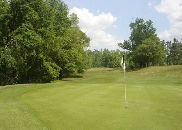 A view of green #12 at Calhoun Country Club