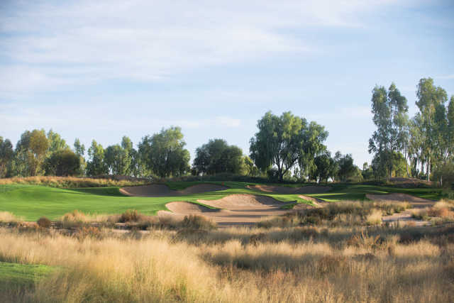 View of a green at Ak-Chin Southern Dunes Golf Club