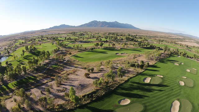 Aerial view from Ak-Chin Southern Dunes Golf Club