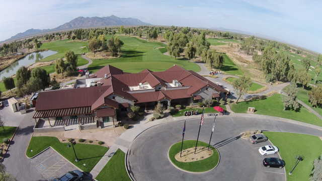 View of the clubhouse at Ak-Chin Southern Dunes Golf Club