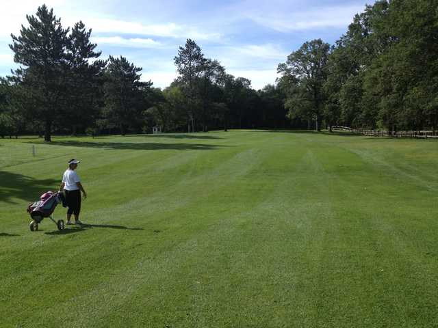 A view from a fairway at Moose Lake Golf Club.