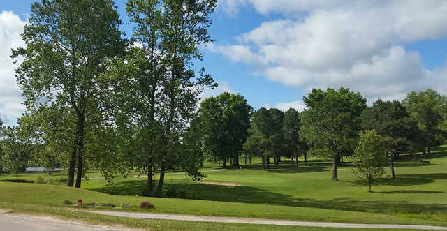 A view of a green at Ava Country Club (Cindy Koile-Penn).