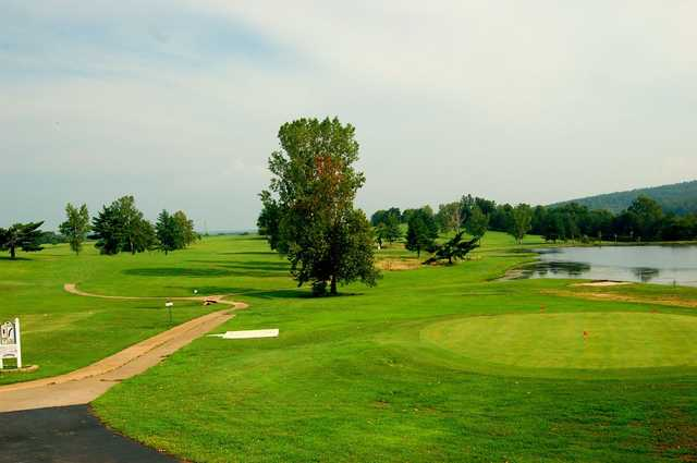 View from #2 at Beaver Valley Golf Club.