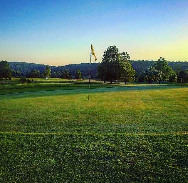 A view of hole #6 at Beaver Valley Golf Club