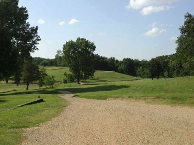 A sunny day view from Higginsville Country Club.