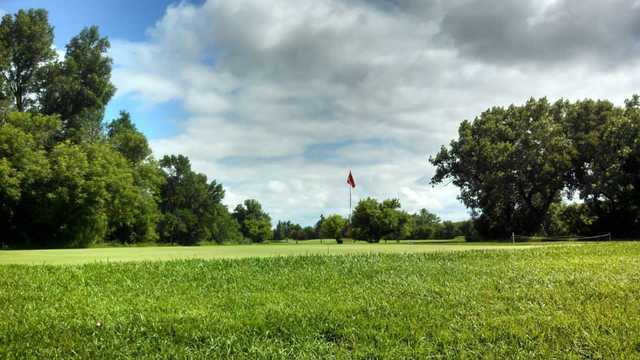 A view of a hole at Sunnyside Golf & Country Club.