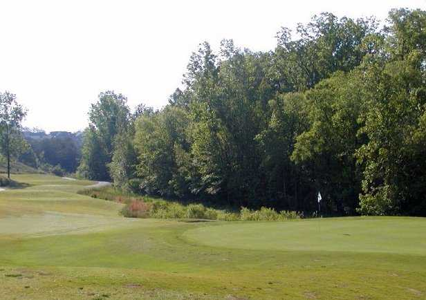 A view of hole #6 at Grande View from Tega Cay Golf Club
