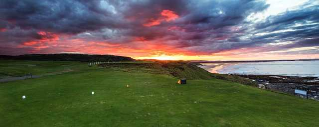 A view from Bamburgh Castle Golf Club