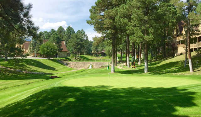 A view of a green at Innsbrook Village Country Club.