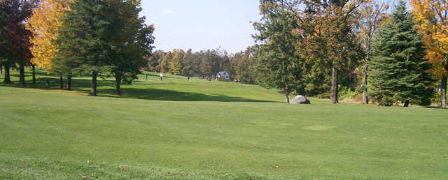 A view from Green Hill Golf Club