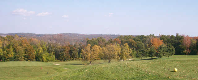 View from a tee at Green Hill Golf Club