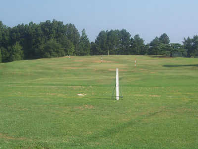 A view of the driving range at Spring Lake Country Club