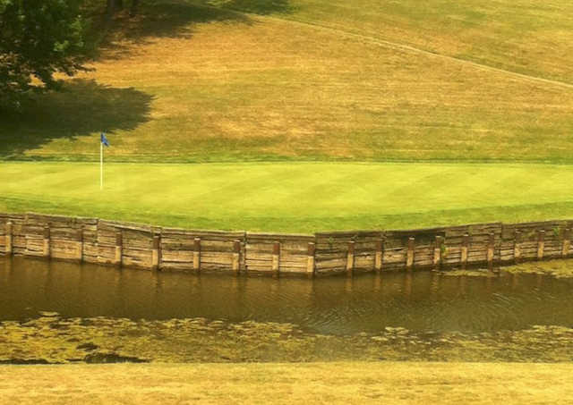 A view of a hole at Crooked Creek Golf Course (Brian Jendrusik).