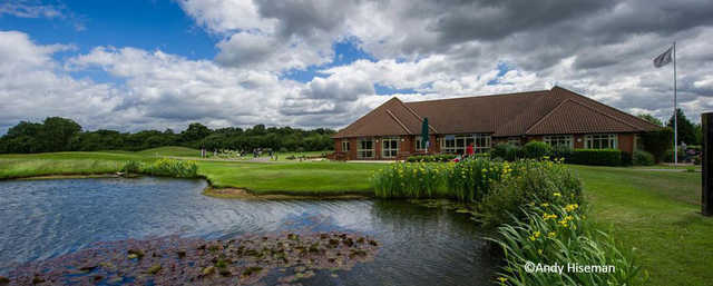 A view from Mill Green Golf Club