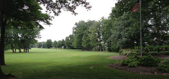 A view from North Course at Michigan City Municipal Golf Course