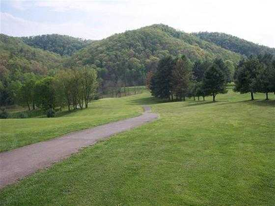 A view from Steel Creek Golf Course.