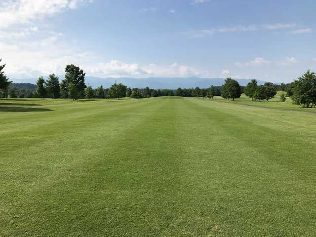 A view from a fairway at Twin Creeks Golf Course.