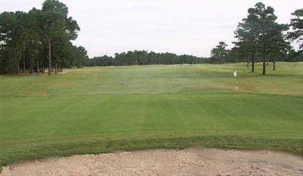 A view of the 8th hole at Star Hill Golf & Country Club - Sands Course