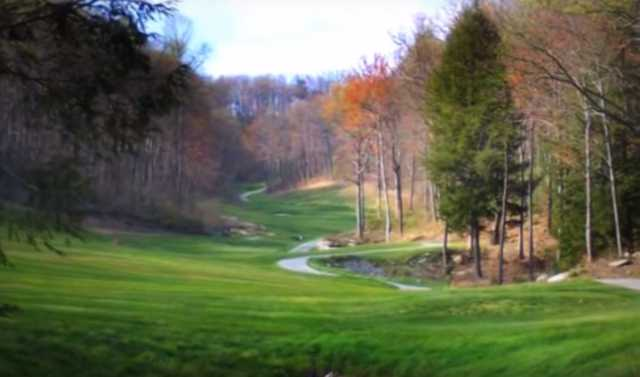 A fall day view from Renegade National Golf Resort (Renegadenational).