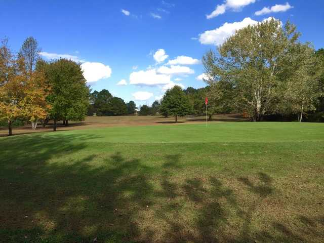 A view of a green at Lake Haven Golf & Country Club.