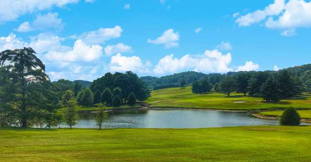 A view over the water from Andrew Johnson Golf Club.