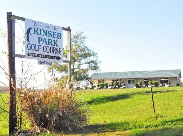 A view from Kinser Park Golf Course (Greenevillesun).