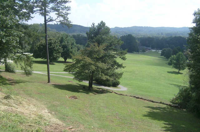 A view from the 9th tee at Emory Golf & Country Club.