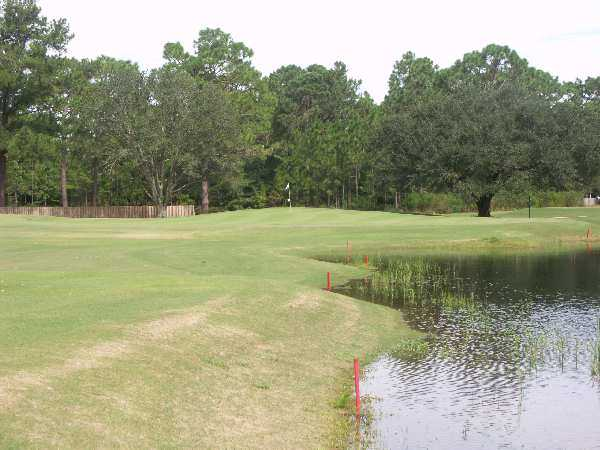 A view of hole #4 at Star Hill Golf & Country Club - Pines Course