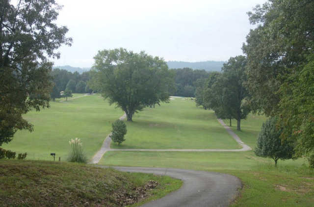 A view from the 2nd tee at Emory Golf & Country Club.