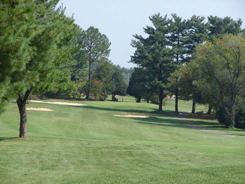 A view from fairway #6 at Pine Oaks Golf Club.