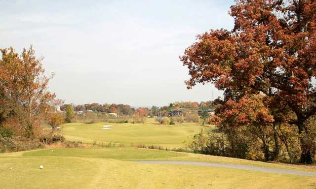 A view from the 9th teeing ground  at Cattails from Meadowview Golf Course.