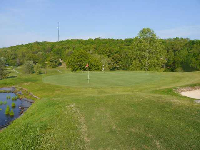 A view of a green at LaFollette Country Club.