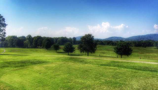 A view from Morristown Golf & Country Club (Brandy Leader Cagle).