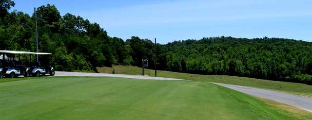 A sunny day view from Rockwood Golf Course.