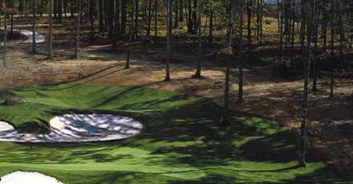 A view from the Preserve at Jordan Lake Golf Club
