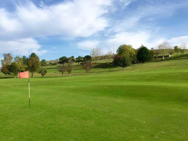 View from a green at Grange Fell Golf Club
