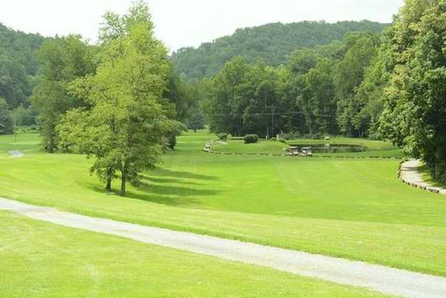 A view from Valley View Country Club.